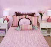 Charming pink children's room