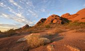 Papago Park, Red rock formation in Phoenix,Scottsdale, Arizona