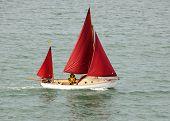 A Classic Yacht Underway