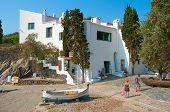 CADAQUES, SPAIN - JULY 7: House-Museum Salvador Dali on July 7, 2010 in Cadaques, Spain. This is the