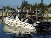 Homeland Security Speedboat