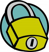 closed padlock