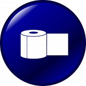 bathroom paper button