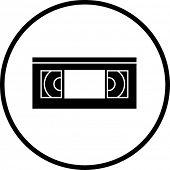 vhs video tape symbol