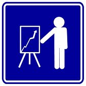 business meeting sign