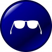 glasses or sunshades button pushbutton