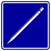 pencil sign