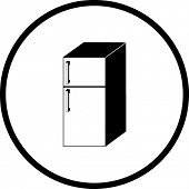 refrigerator symbol