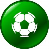 soccer ball button
