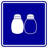 salt and pepper sign