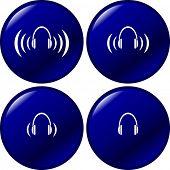 headphone buttons