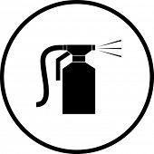 paint sprayer symbol