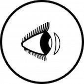 contact lens symbol