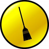 broom button