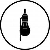 bulb lamp symbol