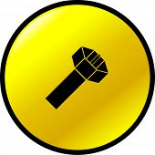 coaxial cable button