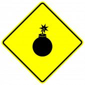 bomb sign