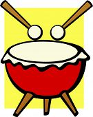 pic of timpani  - big drum - JPG