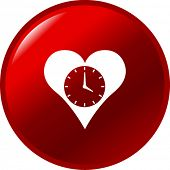 heart time button