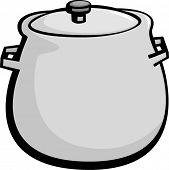 round bottom stockpot