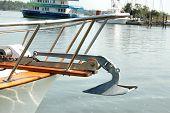 Yacht Bow & Anchor