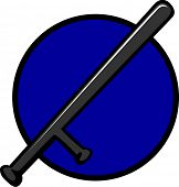 police baton or nightstick