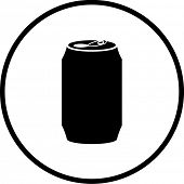 beverage can symbol