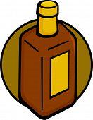 pic of mezcal  - square drink bottle - JPG