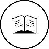 offenes Buch-symbol