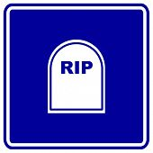 tombstone sign