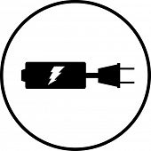 battery recharging symbol