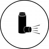 medicine inhaler symbol