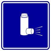 medicine inhaler sign