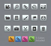 Interface // Satinbox Series -------It includes 5 color versions for each icon in different layers -