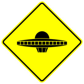 pic of ovni  - ufo space ship sign - JPG
