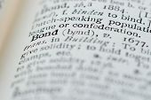 Dictionary definitions of powerful business words & phrases