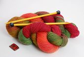 Colorful Knitting Yarn