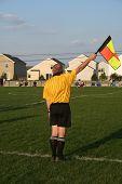 Soccer sideline ref