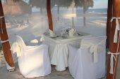 Oceanfront dinner for 2