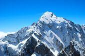 Winter Mountains Peaks