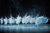 PRAGUE, CZECH REPUBLIC - APRIL 6: The Prague State Opera ballet ensemble presents the traditional ve