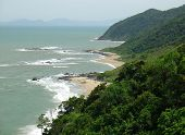Beach In Santa Catarina, South Of Brazil