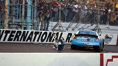 AVONDALE, AZ - NOV 14: Carl Edwards wins the Able Body Labor 200 race at the Phoenix International R