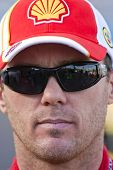 AVONDALE, AZ - NOV 13:  Shell driver, Kevin Harvick waits to qualify for the Checker O'Reilly Auto P