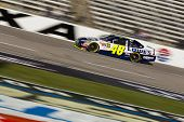 FORT WORTH, TX - NOV 06:  Jimmie Johnson (48) brings his race car down the frontstretch during pract