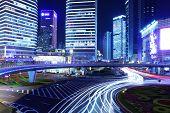 noche de la ciudad moderna