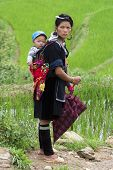 Hmong people in Sapa