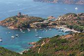 Girolata Harbor, Corsica