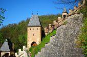 Part of Karlstejn Castle