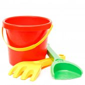 Bucket Rake And Scoop, Toys